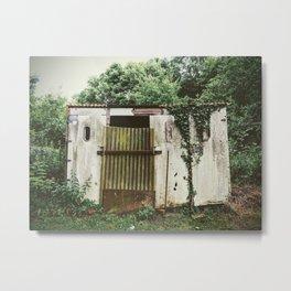 Gartenlaube Metal Print