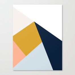 Mid Century Modern Vintage Canvas Print
