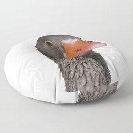 Peeking Duck Homonym Floor Pillow
