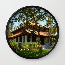Vietnamese Temple Wall Clock