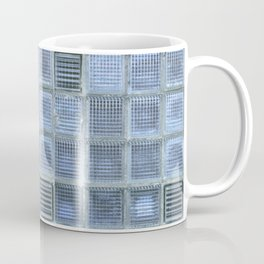 Blue Cube Coffee Mug