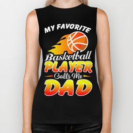 Basketball Dad Shirt. Gift From Daughter/Son For Dad. Biker Tank