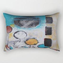 Morning Flowers Rectangular Pillow