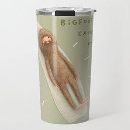 Bigfoot Caught on Tape Travel Mug