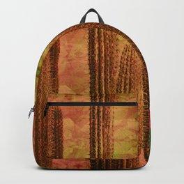 Tribal Mauve Cactus Backpack