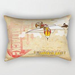 ATTACK IT Rectangular Pillow