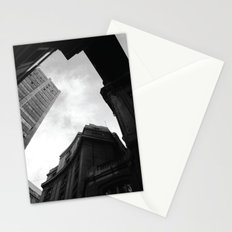 Through the city Stationery Cards