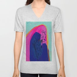 The Mountain Of Color Unisex V-Neck