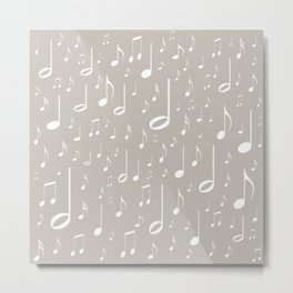 Musical notes Metal Print