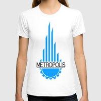 metropolis T-shirts featuring Metropolis by junaputra
