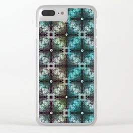 Vintage Filligree 2 Clear iPhone Case