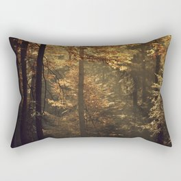 Autumn light - vertical Rectangular Pillow