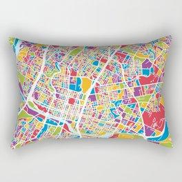Austin Texas City Map Rectangular Pillow