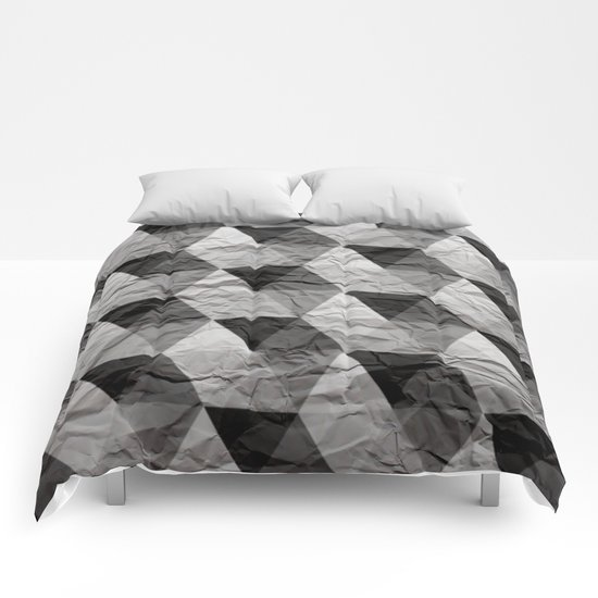 triangles II Comforters
