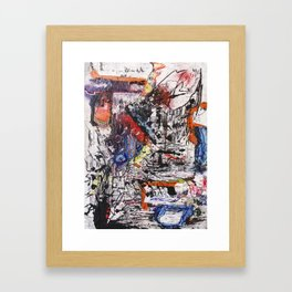 Foreign Objects Framed Art Print