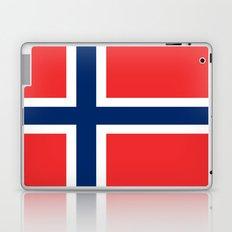 Flag of norway Laptop & iPad Skin
