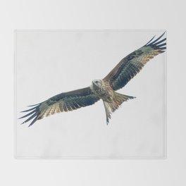 Red Kite Throw Blanket