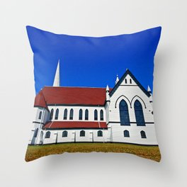 St. Mary's Church side view Throw Pillow