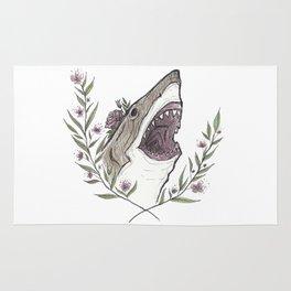 Floral Shark Rug