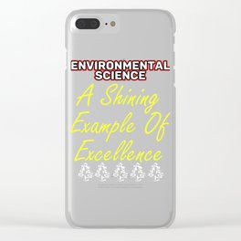 Empowerment Excellence Tshirt Design Tested for excellence Clear iPhone Case