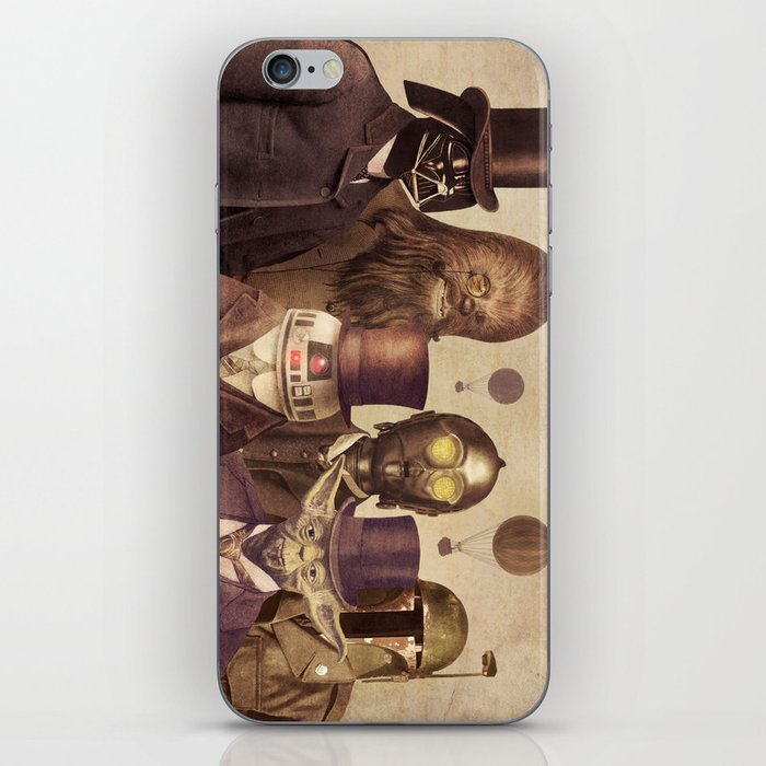 Victorian Wars  - square format iPhone Skin