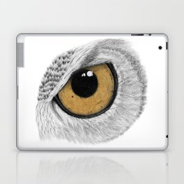Gold Owl Eye Laptop & iPad Skin