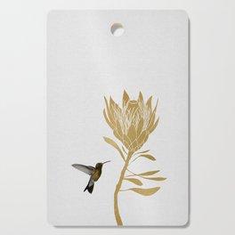 Hummingbird & Flower I Cutting Board
