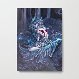 Broken Fairy Metal Print