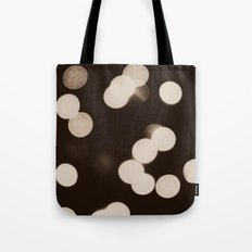 Cool Lights Bokeh Tote Bag