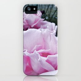 Fading rose iPhone Case