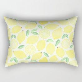 Summer Lemons Rectangular Pillow