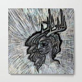 Deerheart Metal Print