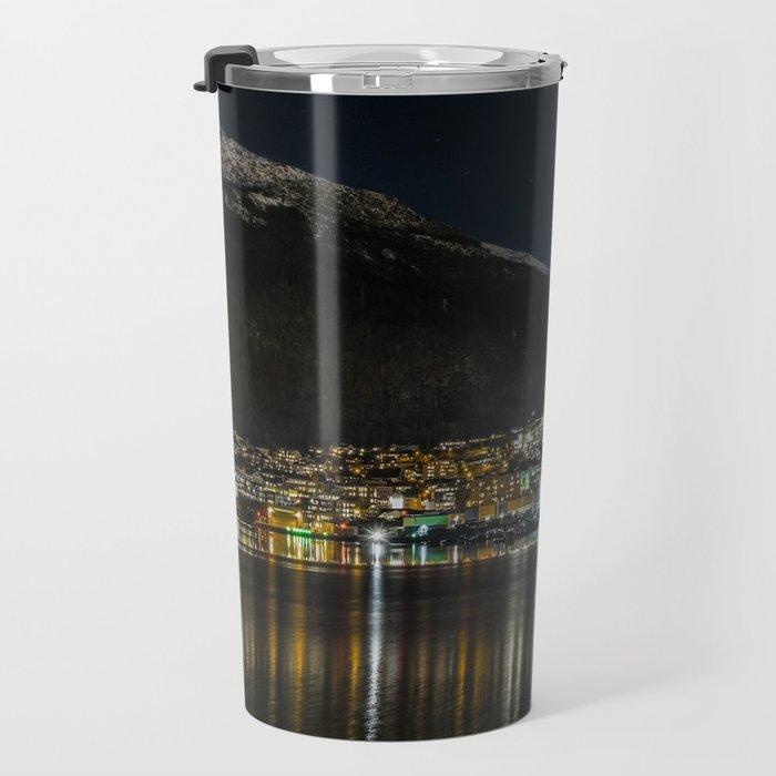 Mountain and City Travel Mug