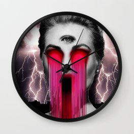 Hollywood Babylon Wall Clock