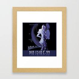 PSO J318.5 22 Framed Art Print