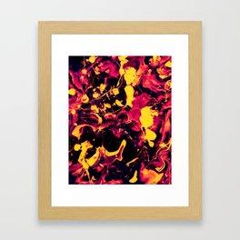 Landing Framed Art Print
