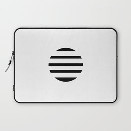 Blinding Sun Black Laptop Sleeve