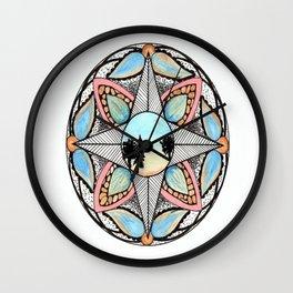 Morning Direction Wall Clock