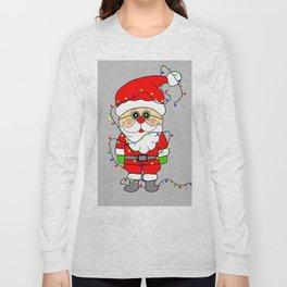 Silly Santa Long Sleeve T-shirt