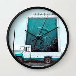 AquaTruck - Julien Tabet - Photoshop Artwork Wall Clock