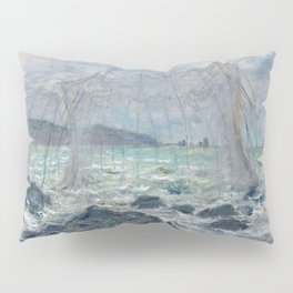 Fishing Nets at Pourville by Claude Monet Pillow Sham