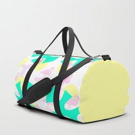 Flamingo vibrant motif Duffle Bag