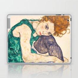 "Egon Schiele ""Seated Woman with Legs Drawn Up"" Laptop & iPad Skin"