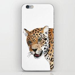 Leopard Bust iPhone Skin
