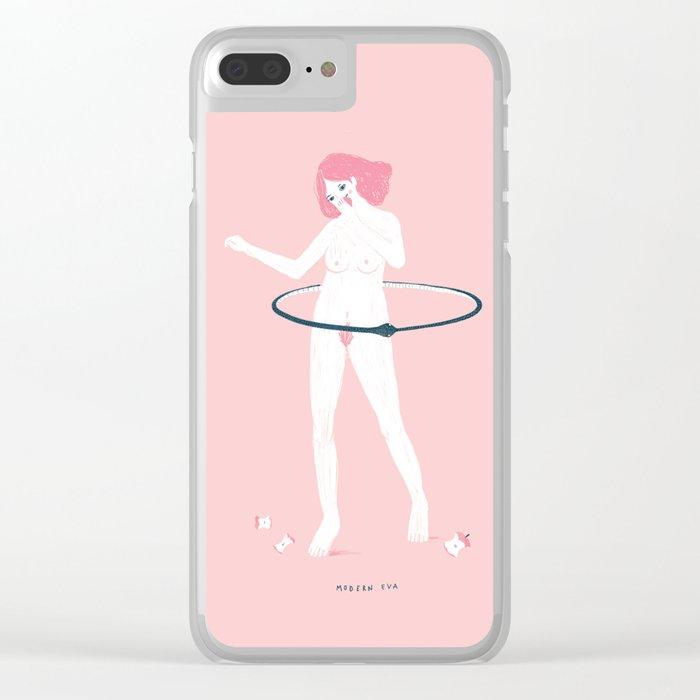 Modern Eva Clear iPhone Case
