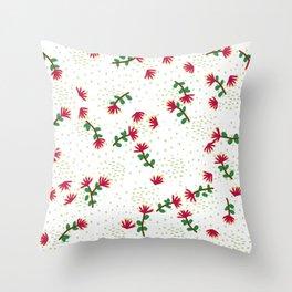 Pohutukawa Throw Pillow