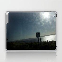 Bus window coast view Laptop & iPad Skin
