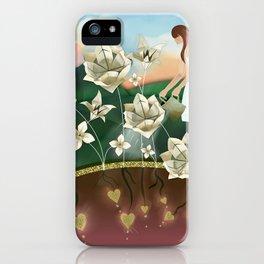 Origami Garden iPhone Case