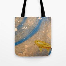 Lone Koi Tote Bag