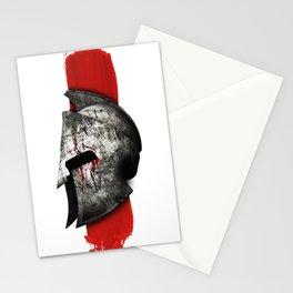 Helmet Spartan warrior Stationery Cards